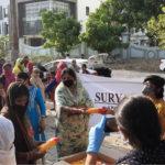 Free Sanitary Pad Distribution