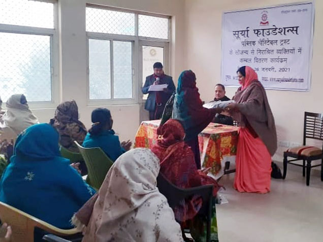 blanket Distribution